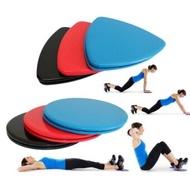กีฬากลางแจ้งออกกำลังกายอุปกรณ์ฟิตเนสเสื่ออย่างรวดเร็วฟิตเนสถาดเลื่อนรอบเส้นผ่านศูนย์กลาง 18 เซนติเมตร - นานาชาติ