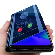 case for oppo a5 2020 case smart mirror flip cover for oppo a 5 2020 a52020 fundas orro