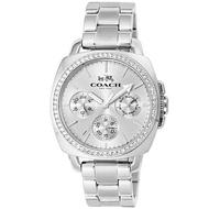 COACH 時尚三眼個性風格女腕錶/白/14502079|滿兩千贈星辰收納包