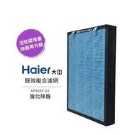 【Haier 海爾】大H-空氣清淨機-醛效複合濾網 AP450F-02