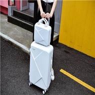 รุ่นเกาหลีของสาย ABS + PC  Li กล่องล้อสากลล้อเลียนนักเรียนหญิงกระเป๋าเดินทางกรณีเล็ก ๆ กรณีรถเข็นขนาดเล็ก 20 นิ้วกล่องน้ำเด็ก