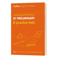 [Original Popular Books Practice Tests for B1 Preliminary PET Collins Cambridge English Books for Adults,Original Popular Books Practice Tests for B1 Preliminary PET Collins Cambridge English Books for Adults,]