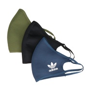 Adidas Unisex Mask Face Covers 口罩 黑 三葉草 HB7851 H59842 IMPACT