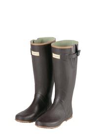 ├登山樂┤日本 Captain Stag 鹿牌 長筒休閒膠靴雨鞋-棕 # UX65