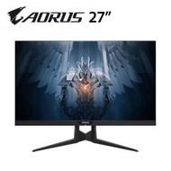 GIGABYTE AORUS AD27QD 27吋 2K電競顯示器(2K/IPS/144HZ/1ms/HDR400/HDMI/DP) 上網登錄送AORUS H5電競耳機 登錄時間7/1至8/31