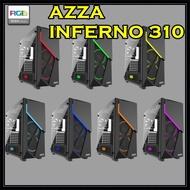 CASE (เคส) AZZA Mid Tower Gaming Computer Case Inferno 310 - Black - Warranty 1 - Y