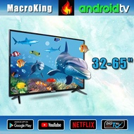 """MacroKing 32"""" 43"""" 50"""" 55"""" 65"""" inch LED WiFi Smart TV FULL HD 4K UHD Digital television DVB-T2/S2 android version 2020 NEW MODEL Samsung screen Free warranty for 2 years Free delivery 32JPW333 43JPW333 50JPW333 55JPW333 65JPW333"""