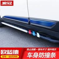 專用于16-19款三菱Outlander改裝配件車身飾條門邊防撞條外裝飾超讚的哦