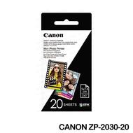CANON Zink 迷你相印機相紙 背膠相紙 (2*3) 40張 ZP-2030-20 PV-123專用相紙