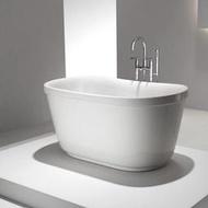 橢圓小型獨立式浴缸 (100cm)