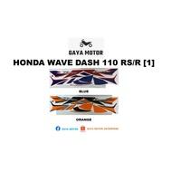 Honda Wave Dash 110RS/R (1) Body Sticker