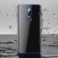 Soft Clear Plating Phone Case for OnePlus 5T 6 6T Oneplus5T Oneplus6T Oneplus5 Oneplus6 T Silicone Ultrathin Original Back Cover