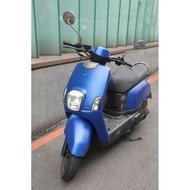自售 YAMAHA山葉機車 化油版 CUXI100 藍色機車