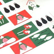 Masking tape for Java sparrows and girls