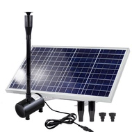 ∈㍿✇Solar fountain fish pond aeration pump water Small outdoor pool aerator 12v
