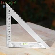 ok☪45度三角尺 木工鋼角尺 多功能尺 水平三角尺150mm♈