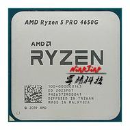 ♗✢CPU Processor R5 4650G Amd Ryzen AM4 Six-Core 65W 8M Twelve-Thread L3 5-Pro No-Fan 100-000000143-Socket
