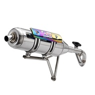 【OM銧榮】KYMCO VJR 125 01C白鐵回壓排氣管/05C白鐵直通排氣管/加速管