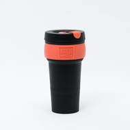 WAYCUP 威客杯│環保伸縮杯 (黑橘)