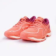 【ASICS】Gel-Cumulus 19女慢跑鞋-粉橘/紫(T7B8N0606)