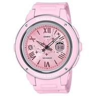 【CASIO 卡西歐】BABY-G 雙顯 女錶 橡膠錶帶 防水100米 世界時間(BGA-150ST-4A)