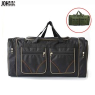 Johnn 80L ความจุมากกระเป๋าเดินทางกันน้ำกระเป๋าเดินทางกระเป๋าแบบพกพากระเป๋าเดินทางขนาดใหญ่ยาวระยะทาง Big กระเป๋ากระเป๋า