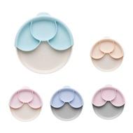 【滿件贈禮】美國 Miniware 天然聚乳酸兒童學習餐具 聰明分隔餐盤組(附吸盤)(6款可選)