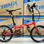 《免費送貨+送頭盔》TRINX FLYBIRD 2.0 - 16速 鋁合金 22吋(451) 摺疊單車*油壓碟...