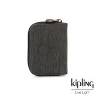Kipling 復古質感丹寧黑短夾-TOPS