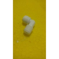 1 / 4 Inch Outer Elbow Fittings - 1 / 4 Inch Ro Hose V.