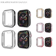 นำไปใช้กับ Apple Watch Series 5/4/3/2/1 Soft Protector Case for i WATCH 38mm 40mm 42mm 44mm Screen COVER