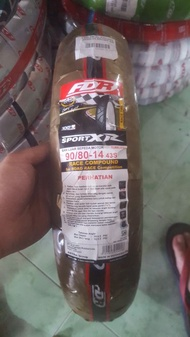 Ban Motor Soft Compound 90/80-14 FDR Sport XR Baru dan Original