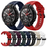 Amazfit T-Rex Strap for Huami Amazfit T-Rex/T-Rex Pro Watch Band Replacement Silicone Strap Bracelet Watch Accessory