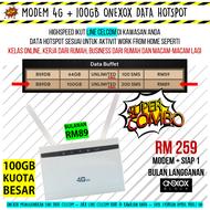 [Modified] Modem 4G support 150mbps + Kuota Data Besar | Sesuai Untuk WFH MCO PKP ( Halotelc0 Onex0x Tonew0w ) - Work From Home - Kerja Online Dari Rumah - Data Hotspot Banyak ( 4G 3G Unlimited calls broadband Internet ) - Alternative to Unifi Time Fibre