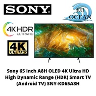 Sony 65 Inch A8H OLED 4K Ultra HD High Dynamic Range (HDR) Smart TV (Android TV) SNY-KD65A8H
