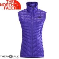 【The North Face 女 ThermoBall 暖魔球 保暖背心 星空紫】 CUD6/暖魔球背心