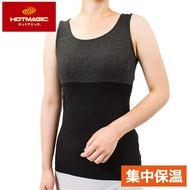 【Gunze郡是】集中型保暖發熱衣無袖背心-黑(MH9254-BLK)