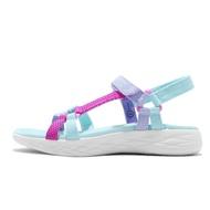 Skechers 涼鞋 On The Go 600 童鞋 女鞋 親子鞋 藍 紫 漸層 【ACS】 302117LAQUA