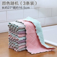 Duster cloth does not touch oil and does not drop hair absorbent cleaning table bowl cleaning dish