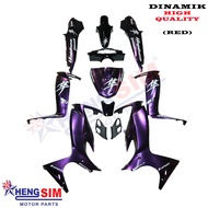 DINAMIK COVER SET HAYABUSA MODENAS , STICKER STAMPED WITH 2K CLEAR