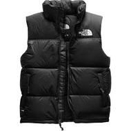 北臉The North Face 1996 Retro Nuptse Vest 700 fill 羽絨 背心 黑白
