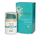 หิมาลายา ยูธ อิเทอนิที ไนท์ ครีม (ครีมทากลางคืนสูตรเข้มข้น ต่อต้านริ้วรอย เพิ่มความยืดหยุ่น ชุ่มชื้น คืนความอ่อนเยาว์เปล่งปลั่งให้ผิวหน้า) 50 มล. Himalaya Youth Eternity Night Cream 50 ml.