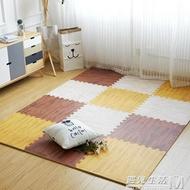 木紋泡沫地墊家用仿木地板墊子兒童拼圖地墊臥室拼接榻榻米墊 WD 遇見生活