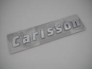 M Benz 賓士 Carlsson 後車箱 立體 字體 字標 logo mark