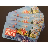 LEGOLAND Malaysia Theme Park - Children Entrance Ticket to Theme Park, Sea Life and Water Park (1 Day ticket)