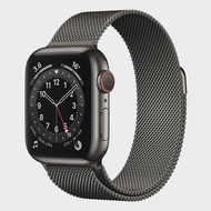 APPLE Watch Series 6 GPS + Cellular (40mm, Space Gray Aluminum Case, Graphite Milanese Loop Band)