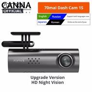 Original Xiaomi 70mai Smart Dash Cam 1S 70MAI 1S 1080P HD Night Vision G-sensor Small Size Car Recorder