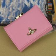 美國大媽代購 Vivienne Westwood 薇薇安 十字紋三折短夾 零錢包 皮夾