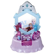 冰雪奇緣 frozen 艾莎 安娜 公主化妝玩具 指甲油 親子遊戲 st安全玩具 兒童玩具 4904810133261 魔法指甲化妝台玩具組-冰雪奇緣2