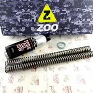 瘋貓摩托 ZOO 前叉彈簧 前叉彈簧強化組 前避震 前叉 彈簧 附前叉油 GOGORO2 GGR2 gogoro 2